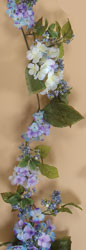 6' Hydrangea & Berry Garland-CLOSE OUT