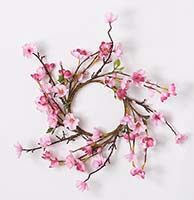 "3.75"" CHERRY BLOSSOM CANDLE RING"