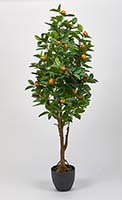 "51"" REAL TOUCH ORANGE TREE W/POT"
