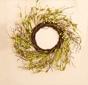 "18"" Wild Berry & Leaf Wreath"