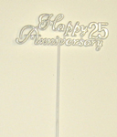 "11"" 25th Anniversary Flat Plastic Pick - SPECIAL PRICE"