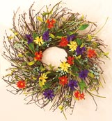 "28"" Wild Twig Wreath"