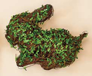 "10"" Twig/Leaves Rabbit"