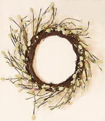 "15"" Pussywillow Wreath"