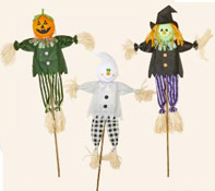 "36"" Halloween Figures on Stick"