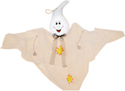 "40"" Hanging Halloween Ghost with Bells White Only"