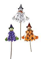 "42"" HALLOWEEN FIGURES ON STAKE"
