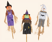 "60"" Halloween Figures on Pole"