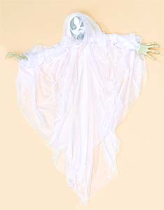 "42"" HANGING GHOST W/ HAND"