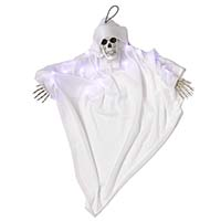 "36"" LIGHT UP HANGING WHITE GHOUL"