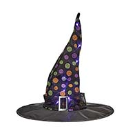 "18"" x 15"" LIGHTED WITCH HAT"