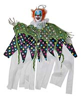 "36"" HANGING LIGHT UP CLOWN"