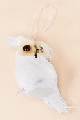 "4.5"" White Snow Owl"