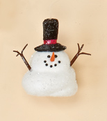 "4"" Snowman Ornament or Tabletop"