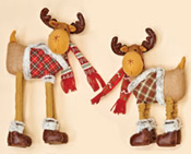 "18"" Pop Up Plush Holiday Moose"