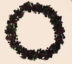 "11"" Cranberry Berry Wreath - CLOSE OUT"