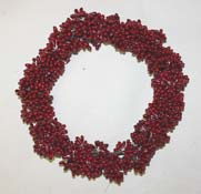 "4.5"" Pip Berry Red Candle Ring - Close Out"