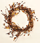 "14"" Acorn & Leaf Wreath"