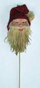 "11"" Straw Santa Pick--CLOSE OUT"