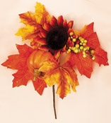 "8"" Weatherproof Fall Floral Pick"