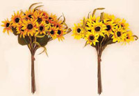 "15"" Sunflower Bush X 12"
