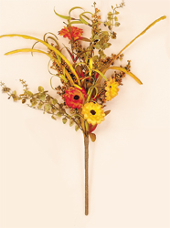"18"" Mixed Fall Floral Spray"