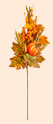 "26"" Fall Spray w/ Long Grasses, Berries, Pumpkins & Leaves"