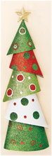 "20"" Metal Cone Christmas Tree"
