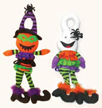 "20"" Plush Halloween Knob Hanger -CLOSE OUT"