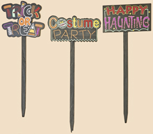 "32"" Wooden Halloween Stake"