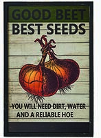 "19"" BEST SEED WOOD SIGN"