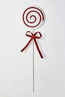"28"" METAL CANDY CANE STAKE"