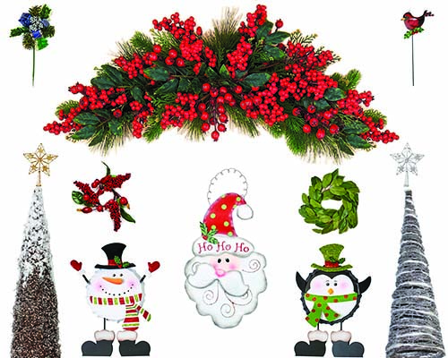 christmas decorations - Burlap Christmas Decorations Wholesale