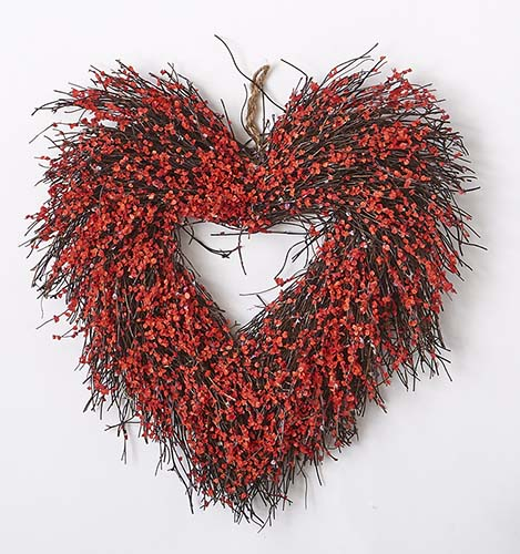 "15"" HEART WREATH"
