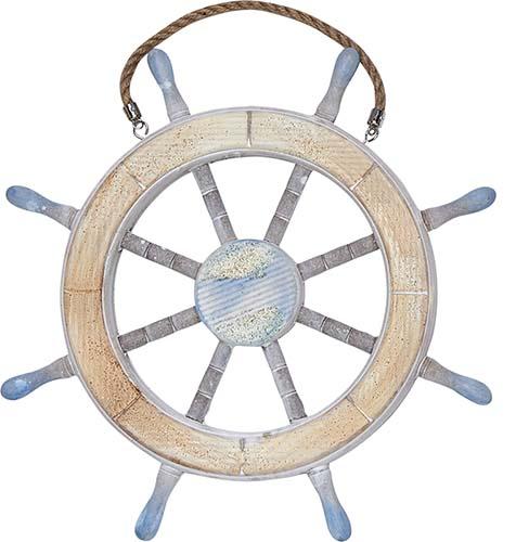 "13"" NAUTICAL SHIP WHEEL"