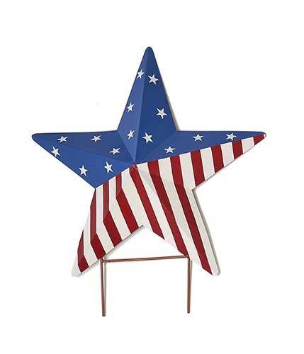"""18"""" AMERICANA STAR STAKE ON 3"""" STAKE"""