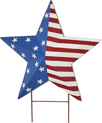 """24"""" AMERICANA STAR ON 4"""" STAKE"""