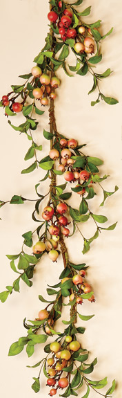 5' Rose Hip Garland