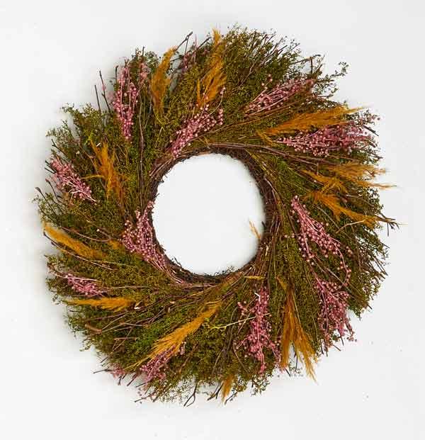 """17"""" Multi Grass Wreath"""