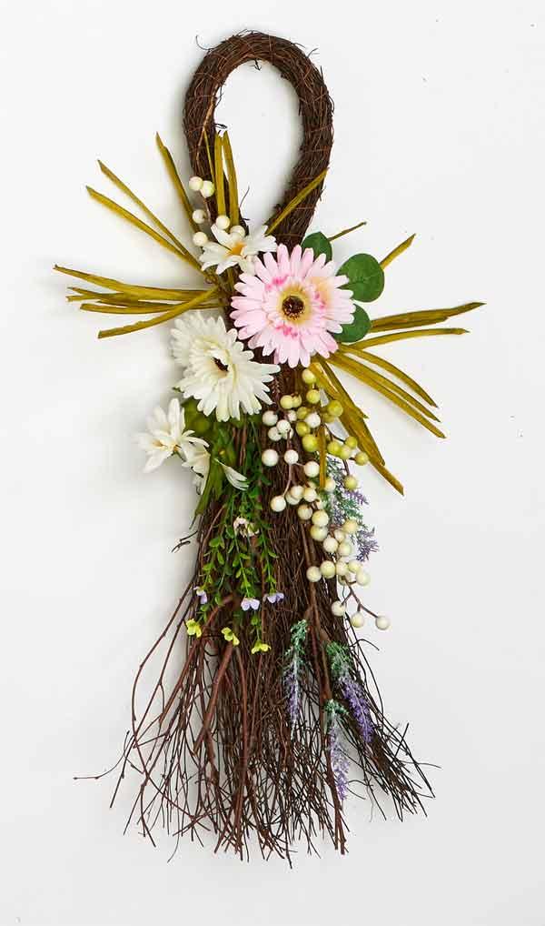 "25"" Chrysanthamum Twig Teardrop"