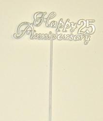 "11"" 25th Anniversary Flat Plastic Pick - SPECIAL PRICE"