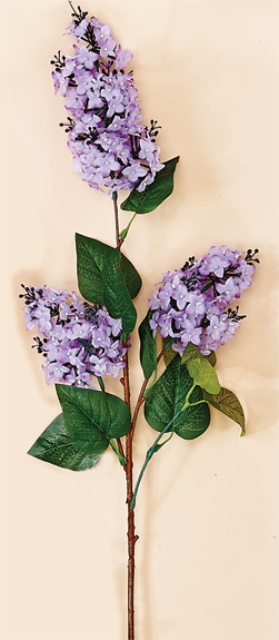 "40"" Lilac Spray X 3, With 5"" - 7"" Heads, Lilac Only -CLOSE OUT"