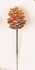 """3"""" Gold Pine Cone Pick"""