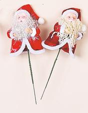 """4"""" Santa on 5"""" Pick"""