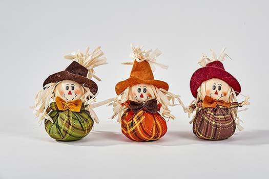 """6"""" Mini Table Scarecrow"""