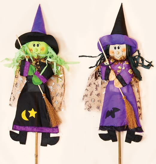 3' Witch on Stick
