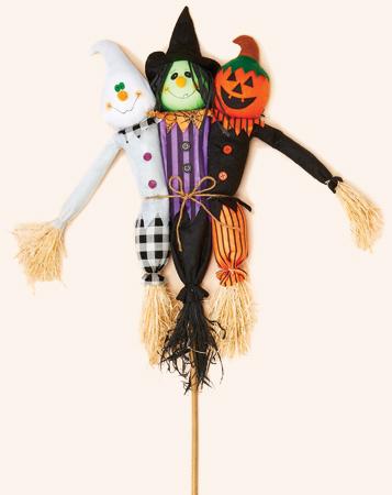 "36"" Trio Halloween on Stick"