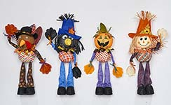 "21"" STANDING SCARECROWS, 2 ASST"