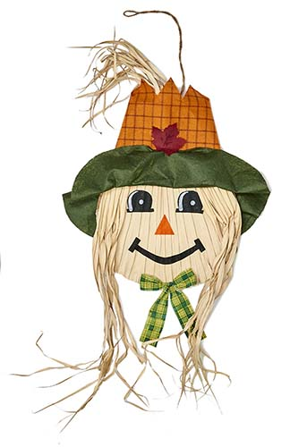 """50"""" Hanging Scarecrow Face"""