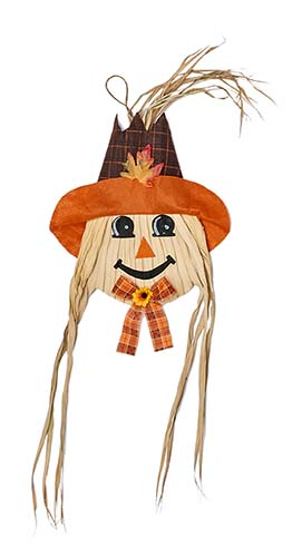 """36"""" Hanging Scarecrow Face"""